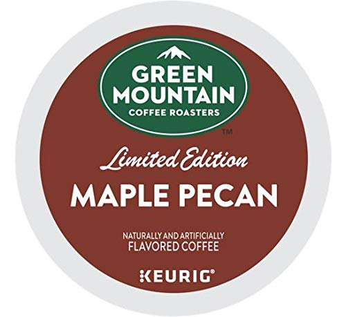 Green Mountain Coffee Green Mountain Coffee Maple Pecan, Single Serve Flavored K Cup Pods, Light Roast, 72Count, Maple Pecan, 72Count