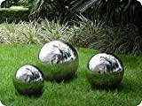 8'' Stainless Steel Gazing Ball