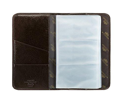 21 Grano Marrón Colección Cuero Wittchen 016 Material Portatarjetas 5 X Italy 12 4 Cm 19 De Tamaño Color fSSqUBP6zH