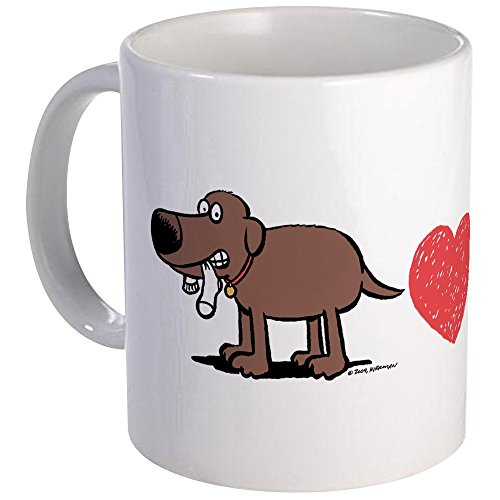 Lab Choc (CafePress - Love A Lab-Choc-Wide Mug - Unique Coffee Mug, Coffee Cup)