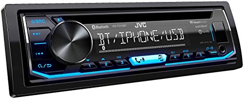 JVC KD-TD70BT CD Receiver Featuring Bluetooth/USB/Pandora/iHeartRadio/Spotify/FLAC / 13-Band EQ (Renewed)