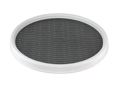 Copco Non-Skid Cabinet Turntable, 12-Inch (Refrigerator Lazy Susan)