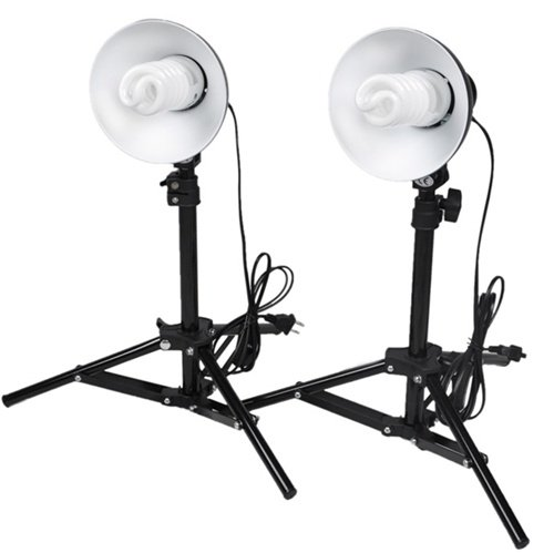Table Top Studio Light Kit