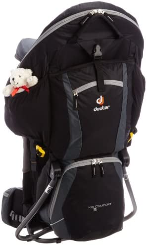 order newest collection first rate Deuter Kid Comfort 3 Kindertrage 18 Liter 36524 (Black ...