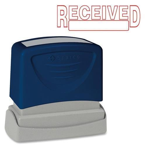 (Sparco 60026 Pre-Inked RECEIVED Message Stamp - RECEIVED Message Stamp - 1.75