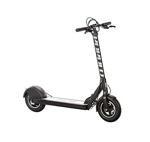 Populo Bikes Blitz Electric Scooter 36V/14.5Ah 350W Motor 18MPH & Easy Fold-N-Carry Design, Black, One Size
