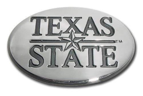 Texas State University Bobcats NCAA College Chrome