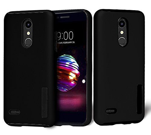 innovative design 8b234 394fd Fit LG K30, LG Phoenix Plus, LG Premier Pro LTE Case, Phonophia [Shock  Absorption] Dual Layers Impact Matte Hybrid Protective Phone Cover with  Screen ...
