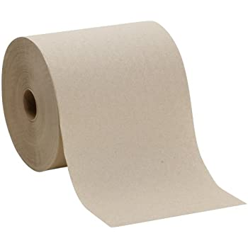 """Georgia-Pacific Envision 26301 Brown Hardwound Roll Paper Towel, (WxL) 7.87"""" x 800' (Case of 6 Rolls)"""