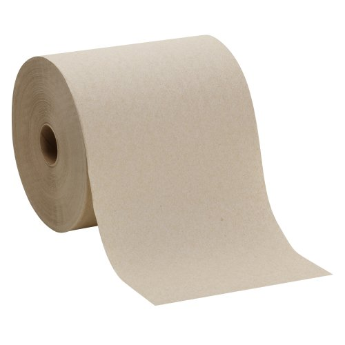 Hardwound Towel (Georgia-Pacific Envision 26301 Brown Hardwound Roll Paper Towel, (WxL) 7.87