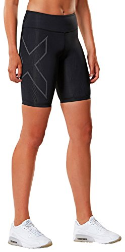 2XU Women's Mcs Run Compression Shorts, Black/Nero, Medium by 2XU