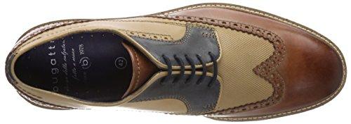 Bugatti 312259041111, Scarpe Stringate Derby Uomo Braun (Brown / Sand)