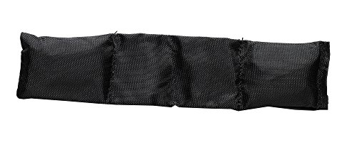 Smitty USA Smitty Officials Football Throw Down Skinny Bean Bag, Black by Smittybilt (Image #1)