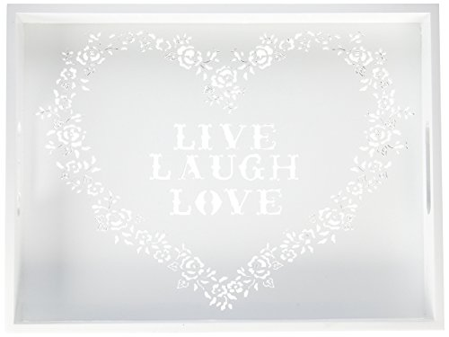 Zingz and Thingz Live Love Laugh Tray by Zingz & Thingz