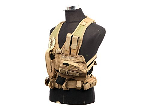 NcSTAR NC Star CTVC2916T, Tactical Vest, Childrens, Tan XS-S