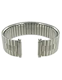 16-21mm Speidel Stainless Elegant Link Silver Tone Metal Watch Band Long 1362/03