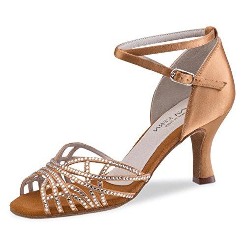 Chaussures de Femmes Bronze 700 Kern 6 Danse cm Anna 60 Satin Bronze wqtxE6Z5