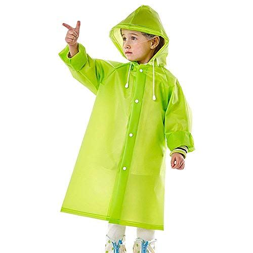 Enfants Perméable Fille Oversize De Élégant Cape Poncho Outdoor L'air Casual Classique Pluie Spécial À B Capuchon Mode Imperméable Manteau Unie Veste Couleur RZqYwEY