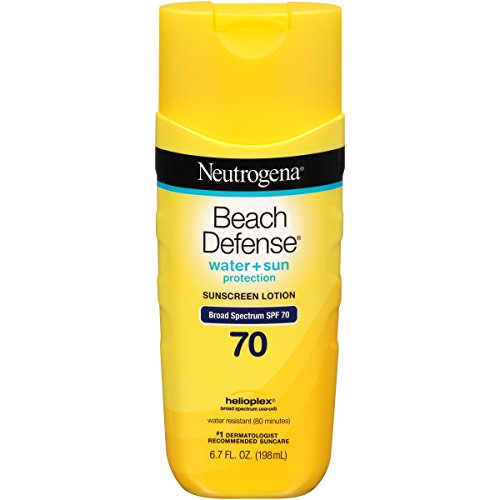 Neutrogena Beach Defense Sunscreen Lotion with Broad
