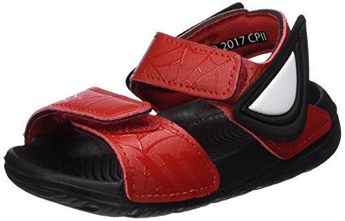 low priced 2ce85 0357f adidas Unisex Baby Spider-Man Altaswim Sandalen Rot (Scarletscarletcore  Black