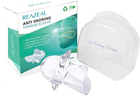 Oral Guard gets a Zen Sleep Like a Monk Transparency Silicone Tongue Case Cover