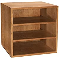 Levenger Cubi Desk Bookcase - Natural Cherry