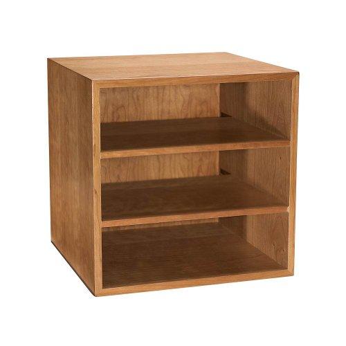(Levenger Cubi Desk Bookcase - Natural Cherry)