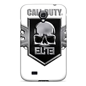 Rugged Skin Case Cover For Galaxy S4- Eco-friendly Packaging(call Of Duty Elite)