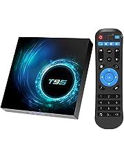 TV-box, 2 GB RAM / 16 GB ROM Android 10.0 TV-box, Allwinner H616 Quad-Core met 2,4 GHz WiFi/Ethernet TV-box