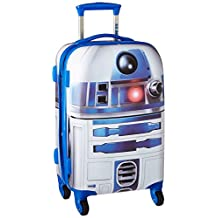 American Tourister Disney Star Wars All Ages 65777-4431 R2D2 Spinner Carry-on Expandable, International Carry-On