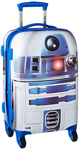 American Tourister Star Wars Hardside Luggage with Spinner Wheels, R2D2, Carry-On 21-Inch