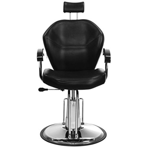 US Stock Reclining Barber Chair Shampoo Beauty Spa Hair Styling Salon - Singapore Amazon To Ship