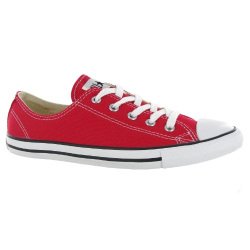 Converse Women's Chuck Taylor All Star Low Top (6.5 B(M) US, Red)