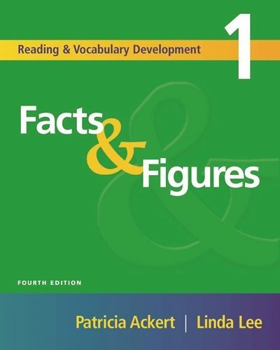 Facts & Figures, Fourth Edition (Reading & Vocabulary Development 1) (Reading & Vocabulary Development Series) by Patricia Ackert (2004-11-16)
