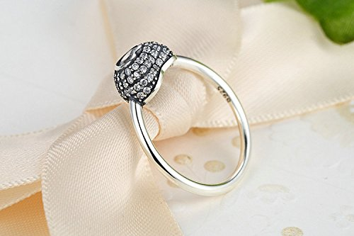 Amazon.com: Dixey Luxury Anillos Sortijas de Compromiso Aniversario Matrimonio Boda Oro Plata Anel De Ouro Prata 925 Joyeria Fina Para Mujer: Jewelry