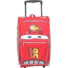 Large Rolling Backpack - Disney - Cars - Lightning McQueen Bag New 603694
