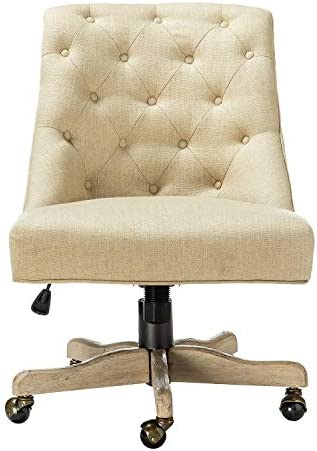 Jovita Fabric Tufted Upholstered Home Office Desk Chair