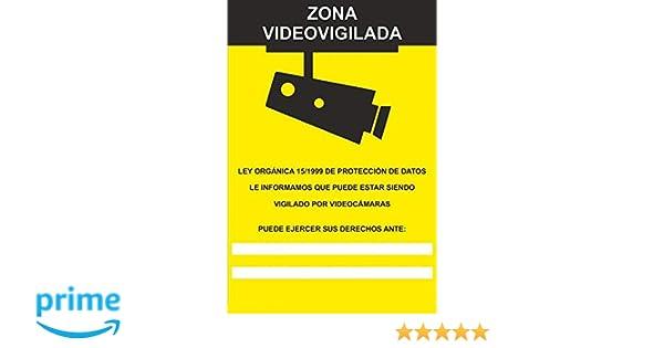MovilCom® - Adhesivo ZONA VIDEOVIGILADA | CAMARA VIGILANCIA ...