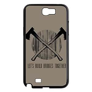 Build Bridges Samsung Galaxy N2 7100 Cell Phone Case Black Delicate gift JIS_406284