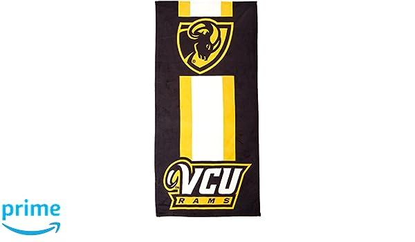 The Northwest Company NCAA VCU Beach Towel Multicolor One Size