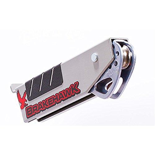 Brakehawk braking system with Petzl TANDEM SPEED zipline (Tandem Cable Pulley)