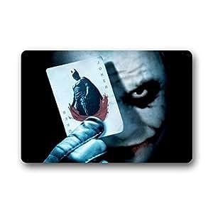 Cool Batman Joker Custom Non-Slip Machine Washable Decor Bathroom Indoor/Outdoor Doormat 23.6x15.7