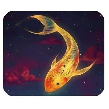Yanteng Cojín de ratón del Juego, Pescado Colorido para el ...
