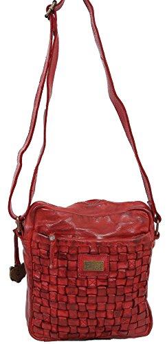 cruzados mujer Bolso rojo para Bear Bags rojo 7qxZaEFwE