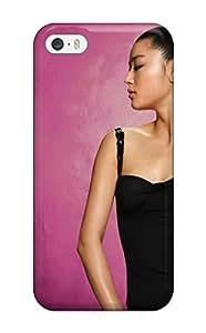 Durable Protector Case Cover With Jeon Ji Hyun Korean Actress Hot Design For Iphone 5/5s