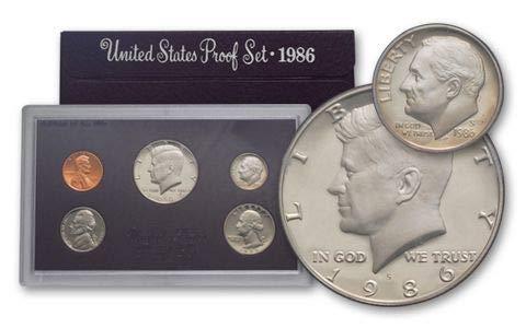 1987 Gem Proof - 1987 United States Mint Proof Set Original Government Packaging Superb Gem Uncirculated