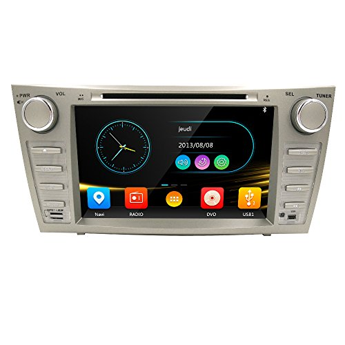 Toyota Hybrid Vehicle (HIZPO Fit Toyota Camry Aurion 07-11 In Dash Double Din 8