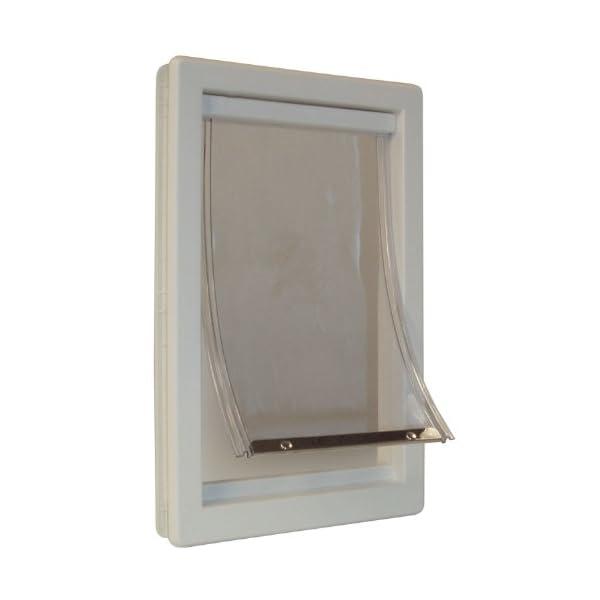 Perfect Pet Soft Flap Cat Door with Telescoping Frame, Medium, 7″ x 11.25″ Flap Size
