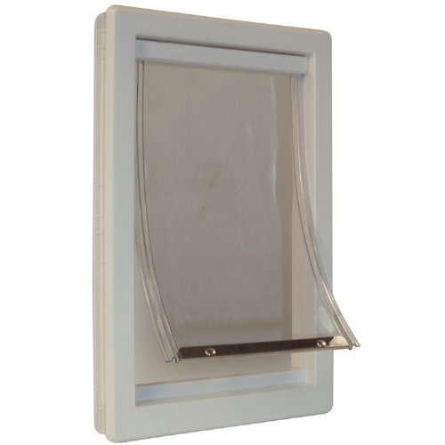 Perfect Pet Soft Flap Cat Door with Telescoping Frame, Medium, 7