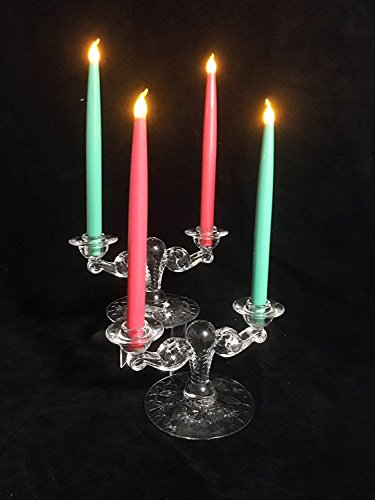 - Connectibles Christmas Holiday Flickering Flameless Child Pet Safe Candles LED 10